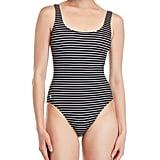 Polo Ralph Lauren Black One-Piece Swimsuit