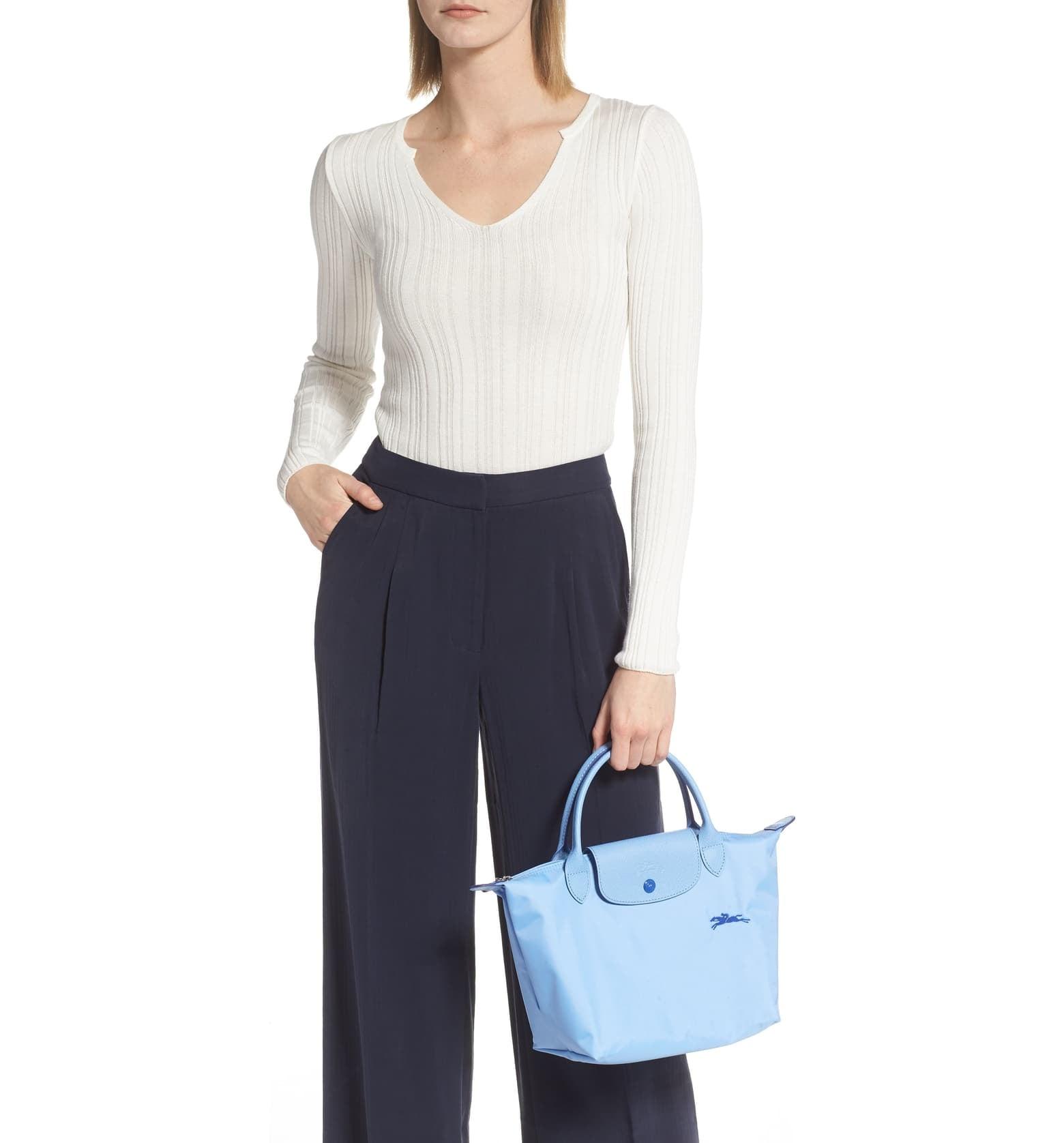 Longchamp Le Pliage Club Tote | The Prada Nylon Bag Trend Is Back ...