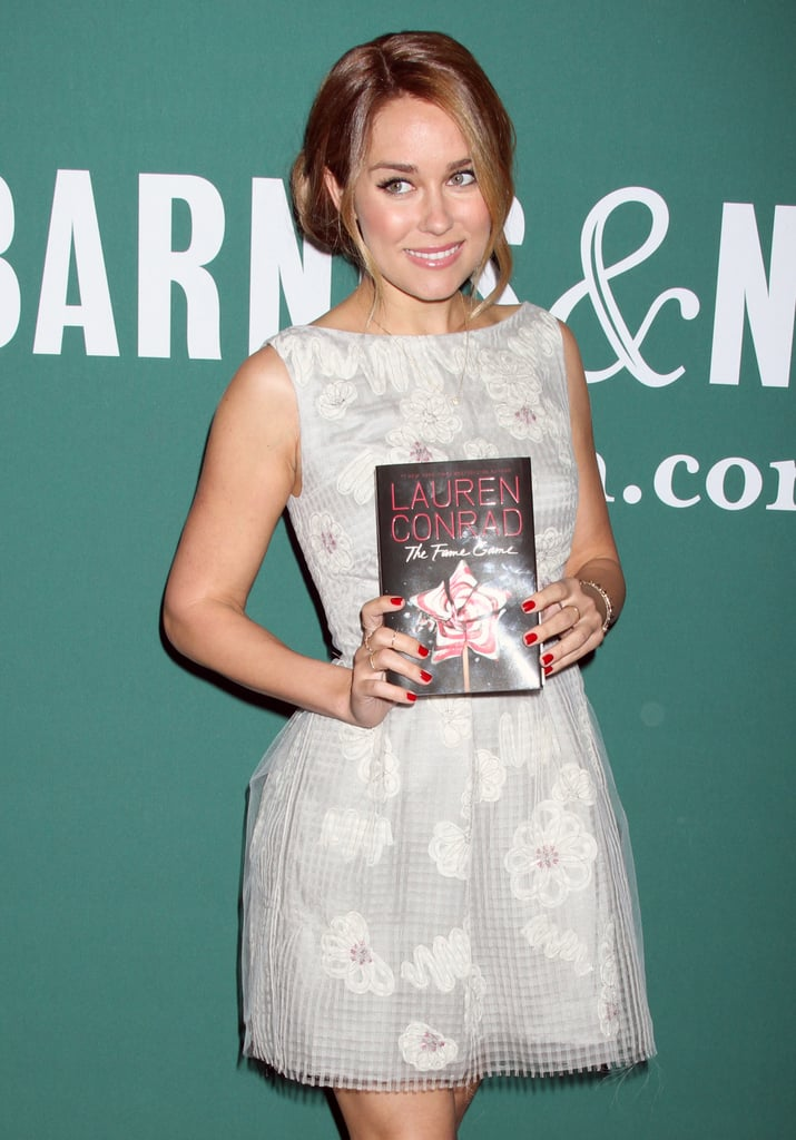 Lauren Conrad signed books in NYC.