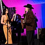 Kacey Musgraves and Willie Nelson at the 2019 CMA Awards