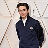 Timothée Chalamet's Prada Suit at the 2020 Oscars