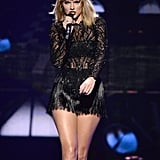 February: Taylor Performs at DirecTV Now Super Bowl Concert