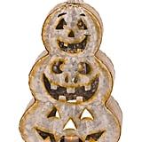 Galvanized Pumpkin Candle Holder