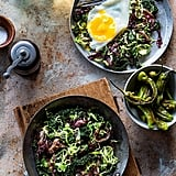 Kale, Radicchio, and Brussels Sprouts Hash