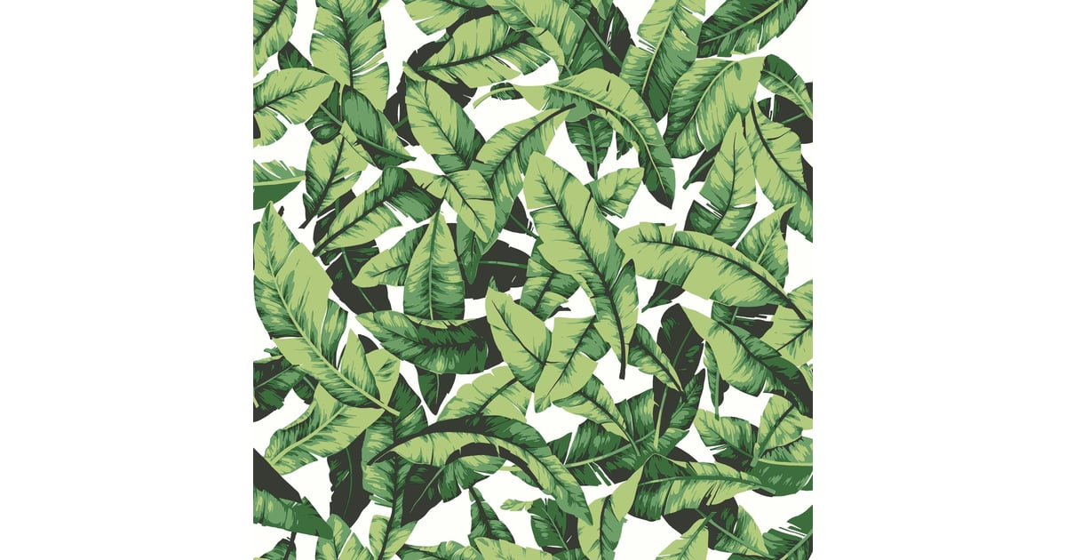 Roommates Tropical Palm Leaf Peel And Stick Wallpaper 10