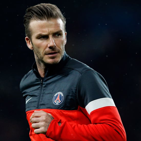 David Beckham's Mom Watches Him Play in Paris | Pictures