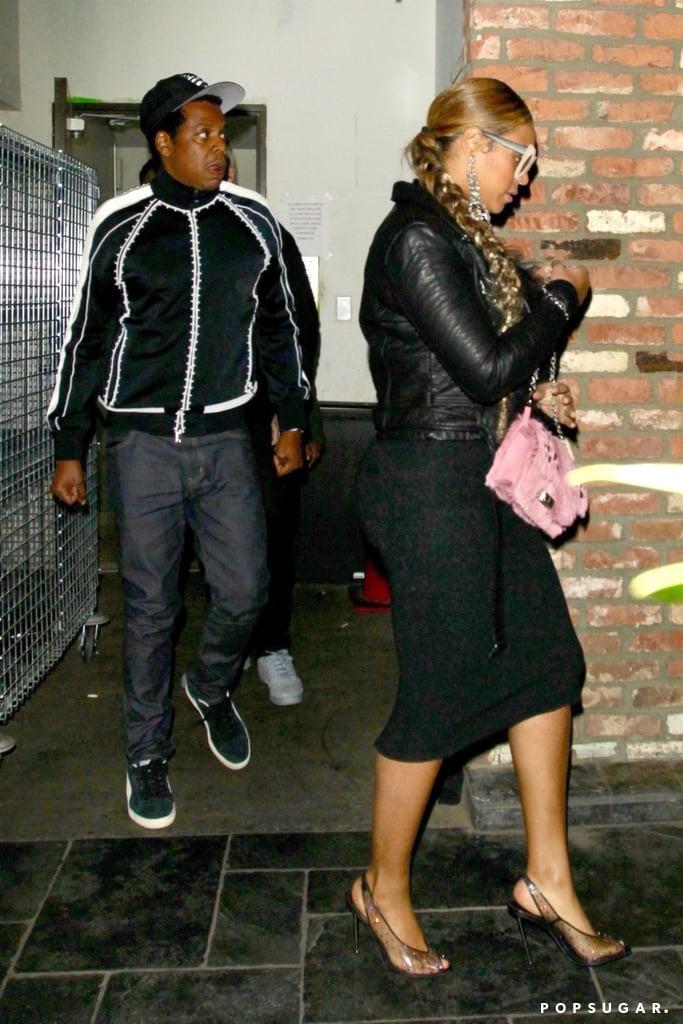 aabd542609b Beyonce Clear Tom Ford Heels | POPSUGAR Fashion
