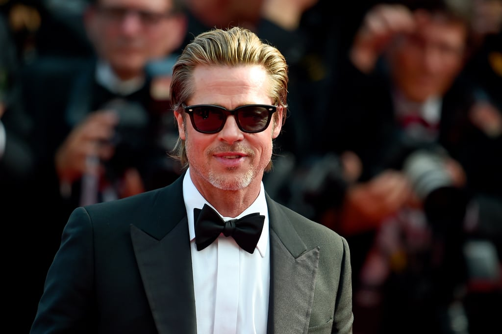 The year was 2017, and Brad Pitt was back on the scene promoting a handful of onscreen projects after a tumultuous split from Angelina Jolie. Not only was he hitting red carpets again, but he was looking damn good while doing it. Let's just say that I noticed. Cut to two years later and I have yet to feel differently about the 55-year-old actor, who is currently doing press for Once Upon a Time in Hollywood with another eternally handsome A-lister, Leonardo DiCaprio. The two looked so hot in their recent Esquire spread that it was frankly a little uncomfortable. And don't get me started on Brad in a tuxedo and bow tie, hamming it up on the red carpet in Cannes. Given OUATIH's July release date, we can plan on seeing a lot more of Brad in the coming months. He's also starring as an astronaut in the upcoming adventure drama Ad Astra, so we'll finally get to see him looking hot in space come September. Keep reading to see Brad's most handsome photos so far this year. 39463335