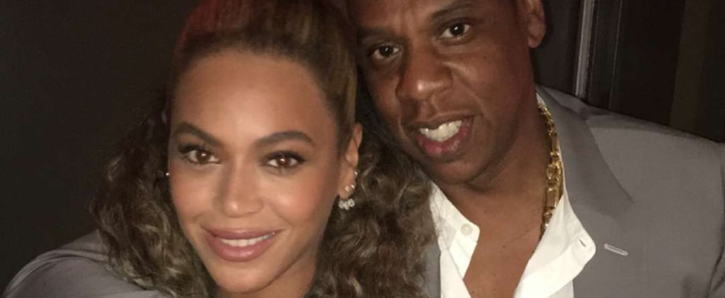 Beyoncé and Jay Z Cuddle Up Backstage After Sneaking Into Usher's Movie Premiere in NYC