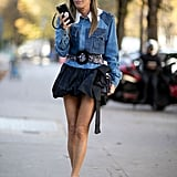 Anna Dello Russo at Paris Fashion Week