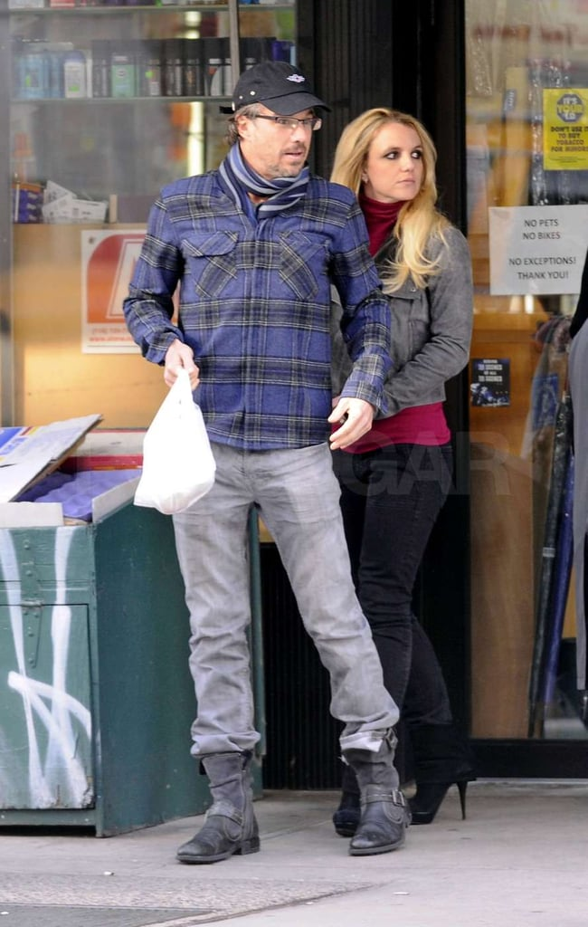 Britney Spears held onto Jason Trawick.