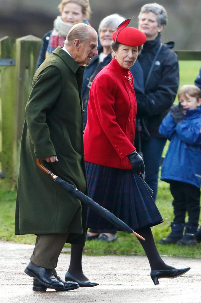 Princess Anne's Reaction to Prince Philip's Car Accident