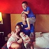 His (Adorable) Kids