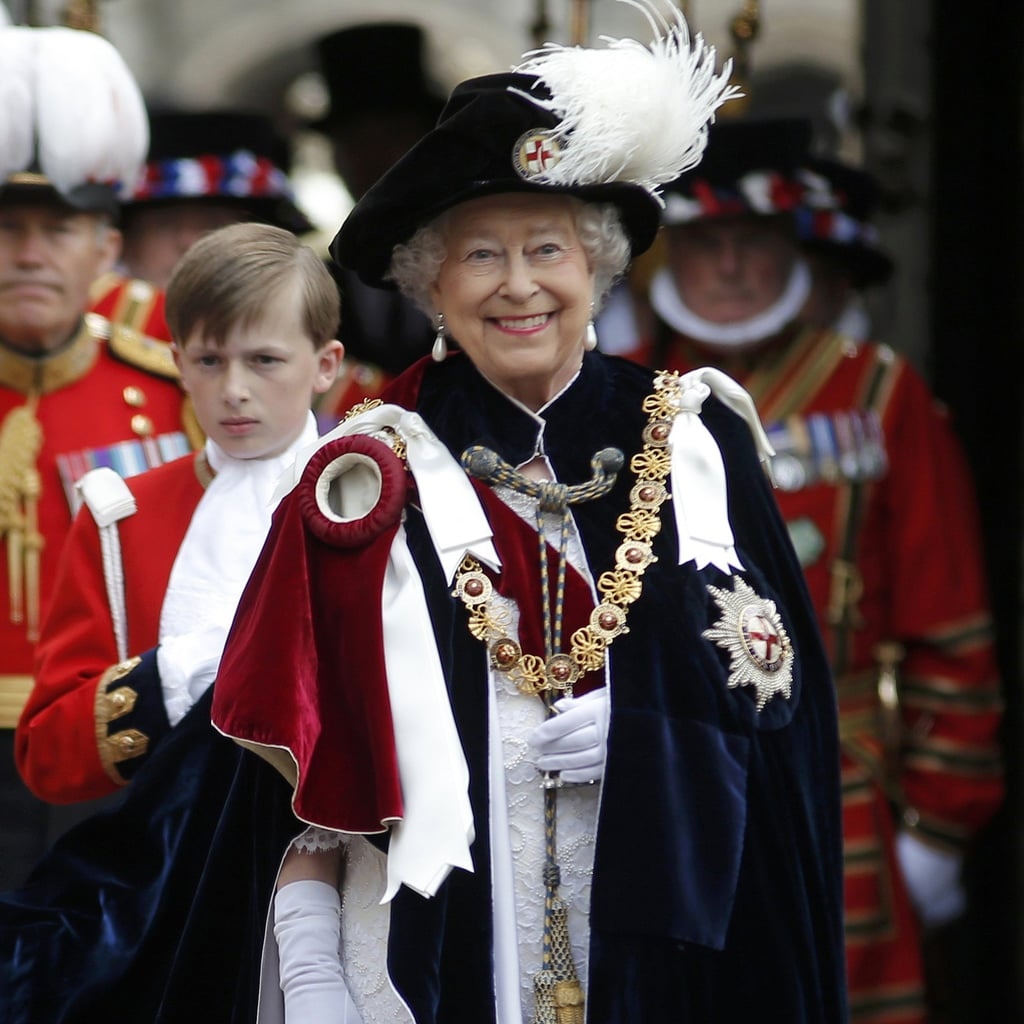 The British Royal Family at the Order of the Garter Service