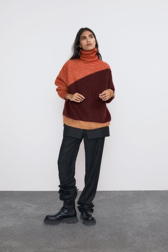 Zara Mohair and Wool Blend Sweater
