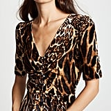 WAYF Becca Ruched Cap Sleeve Top