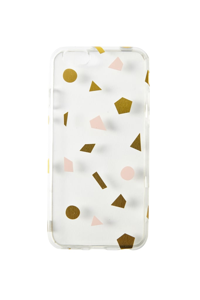 Typo Transparent Phone Cover (£7)