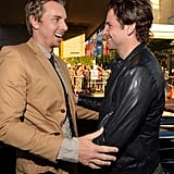 "Bradley Cooper only worked with Dax Shepard for one day on the set of The Comebacks. According to an interview that he gave after the fact in 2009, though, that was all he needed: ""Although we only worked one day together on a movie called The Comebacks, I had a huge bromance with Dax Shepard. I'm the type of guy who falls in love fast."""