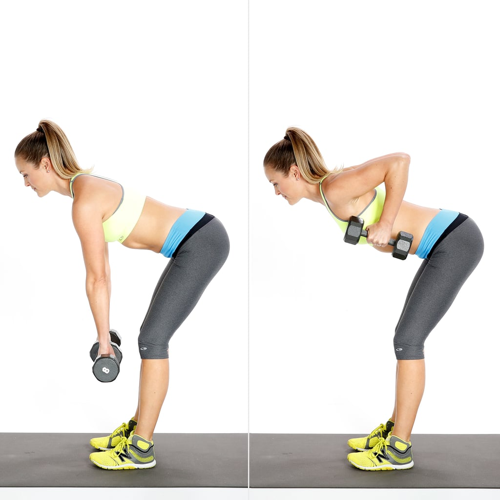 Circuit 1, Exercise 2: Deadlift With Row