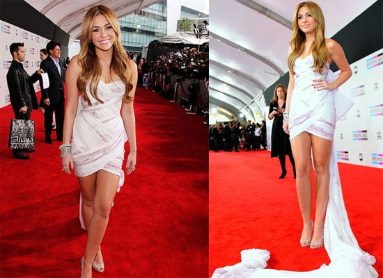 Miley Cyrus at the 2010 American Music Awards