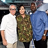 Tommy Hilfiger, Kris Jenner, and Corey Gamble