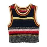 Alexa Chung Stripy Mohair Vest ($370)