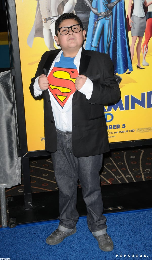 In 2009, Rico Rodriguez went as Superman in Hollywood.