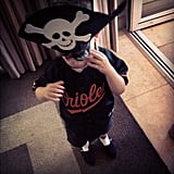 """Happy Birthday to my son Sparrow James Midnight Madden. 3 years old. I've never been prouder."""