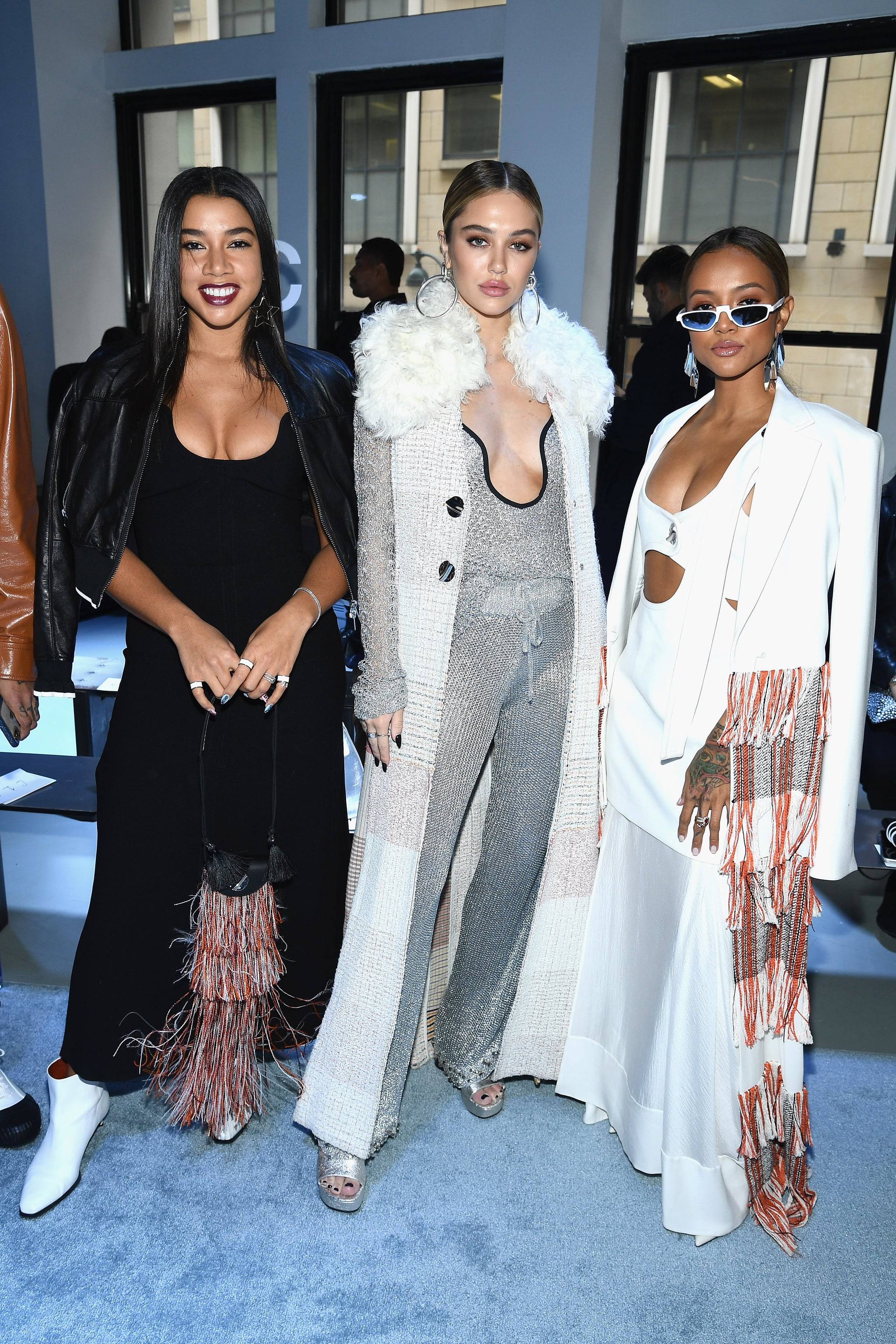Hannah Bronfman, Delilah Belle Hamlin, and Karrueche Tran at