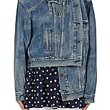 Balenciaga Crossover-Front Denim Jacket