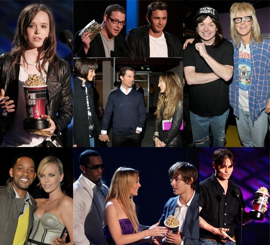 An Extensive Gallery And List Of Winners From The MTV Movie Awards 2008