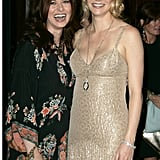 She posed with Debra Messing at the Crystal + Lucy Awards in LA back in June 2004.