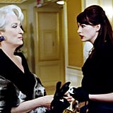 Anne Hathaway's Favorite Outfits From The Devil Wears Prada