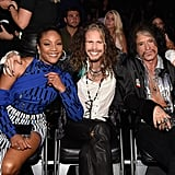 Tiffany Haddish, Steven Tyler and Joe Perry