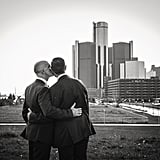 Detroit-Themed Wedding