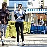Kristen Stewart Smiling in LA 2014   Pictures