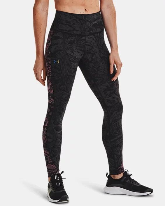 RUSH™ HeatGear® No-Slip Waistband Printed Full-Length Leggings