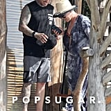 Pink and Carey Hart at the Beach in Mexico February 2019