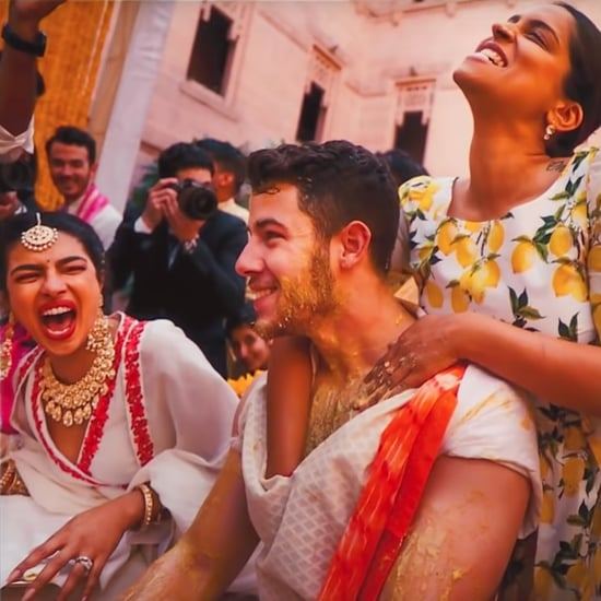 Lilly Singh Gave Nick Jonas a Full Body Scrub at His Wedding