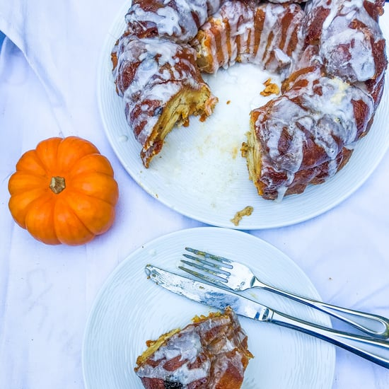 Pumpkin-Cheesecake-Stuffed Monkey Bread Recipe + Photos