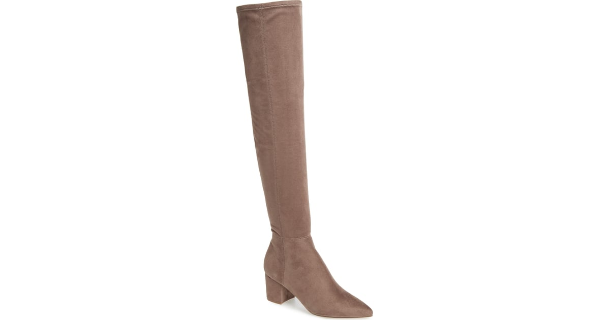 a49ebf75448 Steve Madden Brinkley Over the Knee Stretch Boot