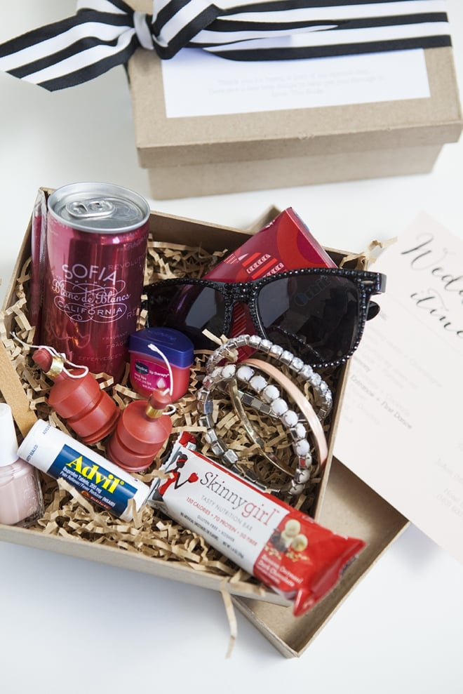 Bridesmaid Survival Kit | DIY Bridesmaid Gifts | POPSUGAR ...