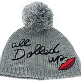 Kate Spade New York Dolled Up Pom Beanie