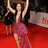 Constance Wu at the Hustlers Premiere in Toronto