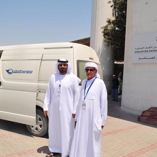 Emirates Post is Delivering Iftar Meals Across Sharjah