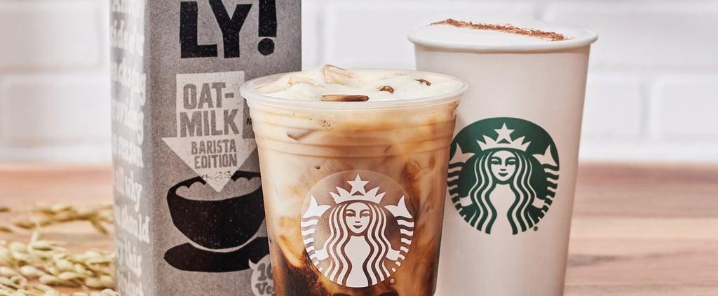 Starbucks Is Now Offering Oat Milk on Its Permanent Menu!