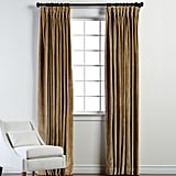 Coin Velvet Goblet Pleat Panel ($329)