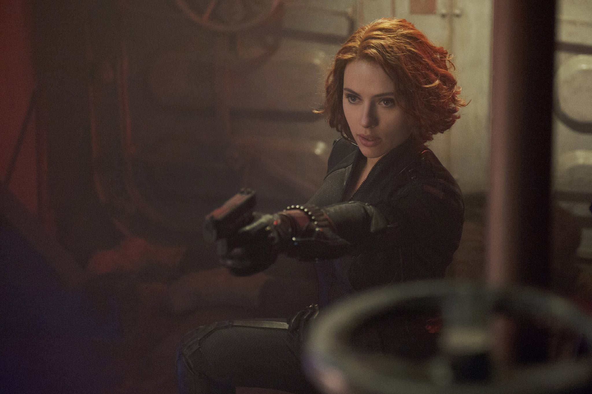 AVENGERS: AGE OF ULTRON,  Scarlett Johansson, 2015. ph: Jay Maidment/Walt Disney Pictures/courtesy Everett Collection