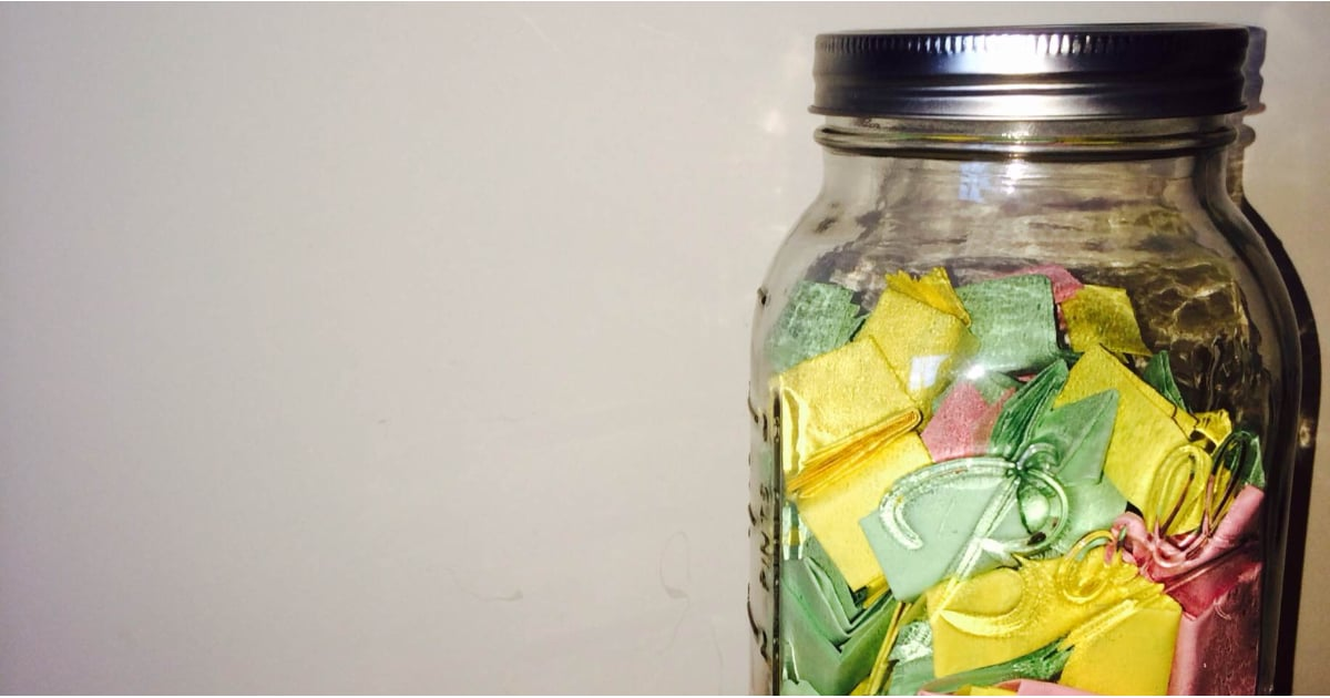 Love Note Jar Diy Popsugar Love Sex
