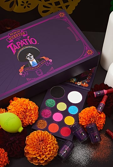 See Tapatío's Día De Los Muertos Makeup Collection
